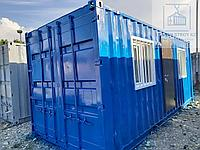 Жилое помещение для офиса из 20 футового контейнера, фото 1
