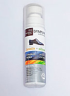 """Крем - краска для обуви """"DAMAVIK"""" силикон + ланолин, коричневая, 75мл."""