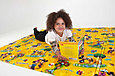 Детский термоковрик для ползания игровой  рулонный Мики маус, фото 5