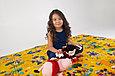 Детский термоковрик для ползания игровой  рулонный Мики маус, фото 8