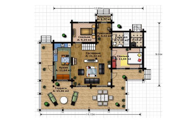 дом со вторым светом по индивидуальному проекту, план двухэтажного дома и строительство под ключ, проектирование и строительство деревянных домов.