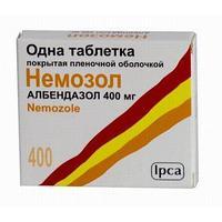 Немозол 400 мг №1 табл.п.о