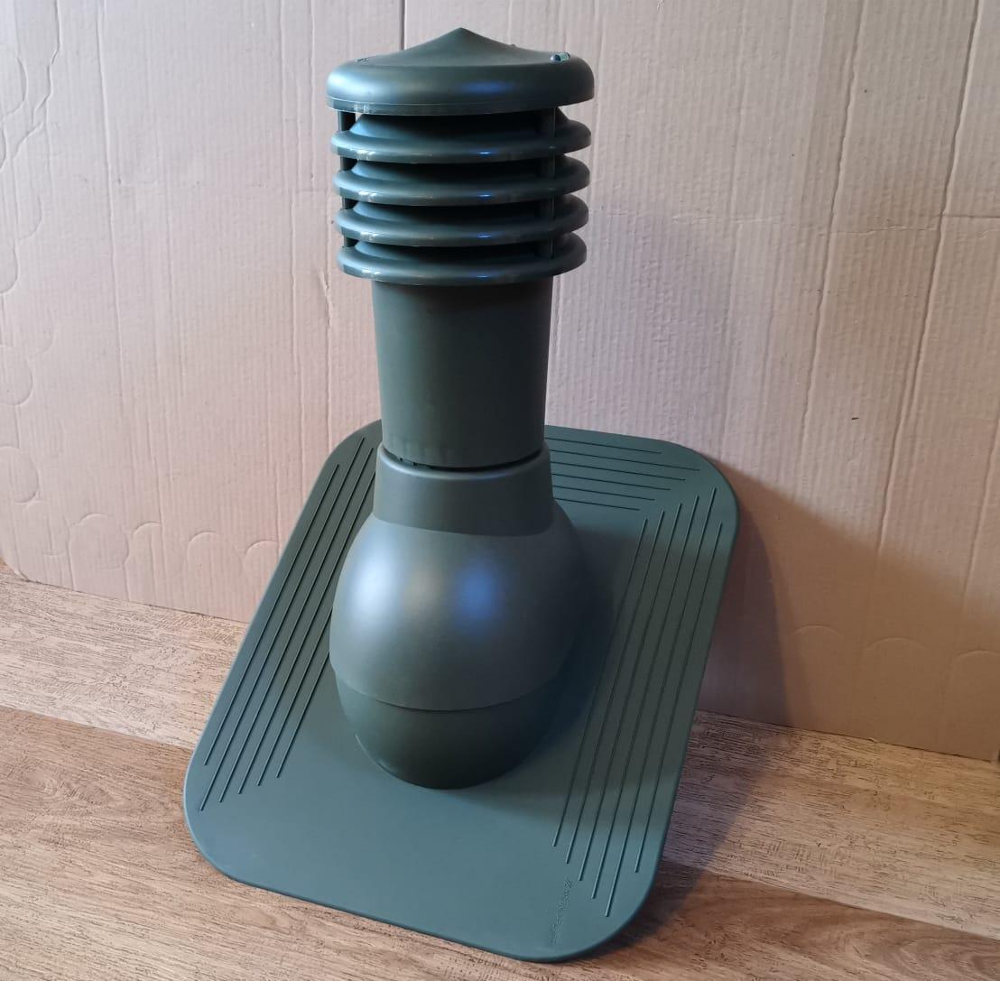 Вентиляционный выход для гибкой черепицы до монтажа KPG 125 Зеленый