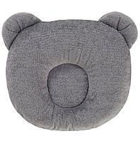Candide: Подушка анатомическая Панда Dark Grey Panda pillow 21x19cm Темно-серый