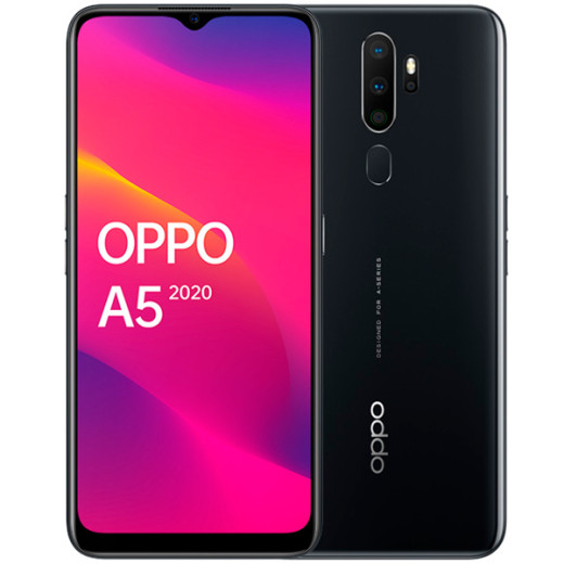 Смартфон OPPO A5 2020 Mirror Black, White