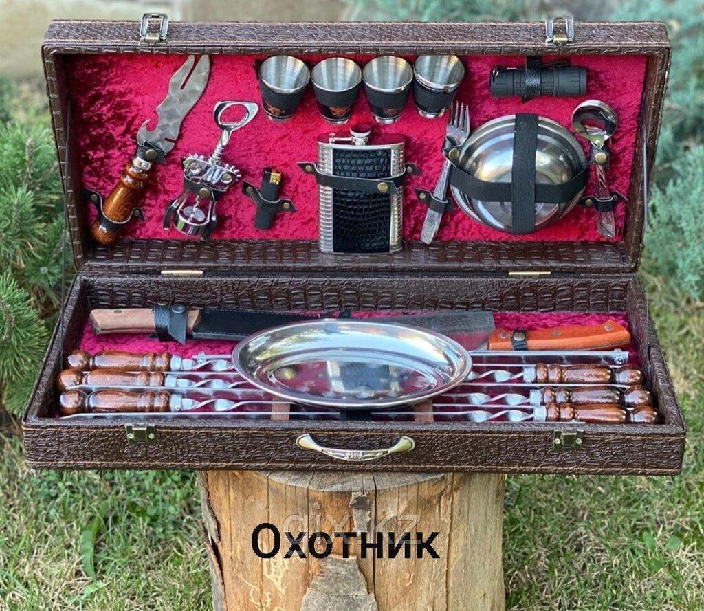 """Набор в коробке кож/зам """"ОХОТНИК"""""""