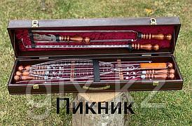 "Набор в коробке кож/зам ""ПИКНИК"""