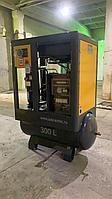 Винтовой комбинированный компрессор ADD AIRTEC DNAD-5D с ресивером объемом 350 литров и осушителем