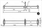 Траверса ТМ-8 (3.407.1-143.8.8) МАЛИЕН, фото 2