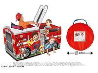 Детская палатка для игр «Щенячий патруль» (Красный), фото 4