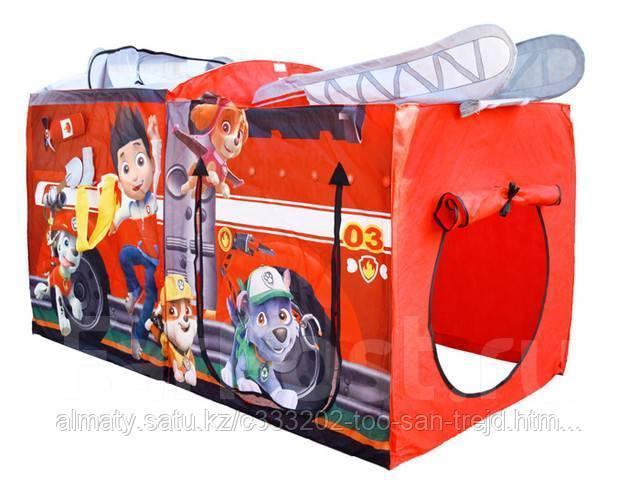 Детская палатка для игр «Щенячий патруль» (Красный)