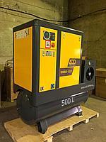 Винтовой комбинированный компрессор ADD AIRTEC DNAD-11D с ресивером объемом 500 литров и осушителем, фото 1