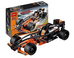 """Jisi Bricks 3413 Конструктор Гоночная машина """"Чёрный Чемпион"""", 137 дет. (Аналог LEGO)"""