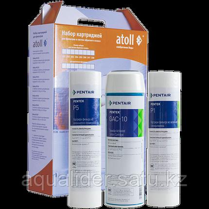 Набор фильтрэлементов atoll №202 STD (префильтры для серий A-575, A-550, A-560), фото 2