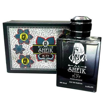 Мужские арабские духи SHEIKH Opulent Shaik №77 в подарочной коробке 100ml, фото 2