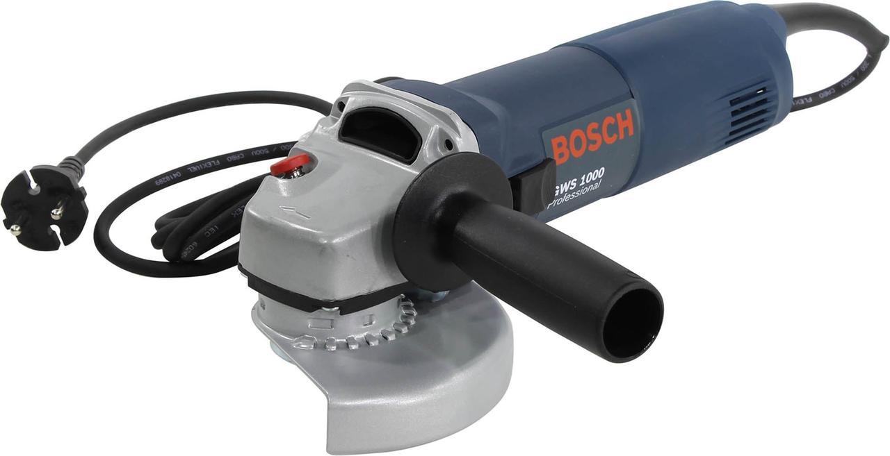 Угловая шлифмашина BOSCH GWS 1000 Professional 0601821800