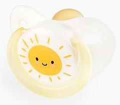 Соска - пустышка Happy Baby Baby латексная 0+ Yellow
