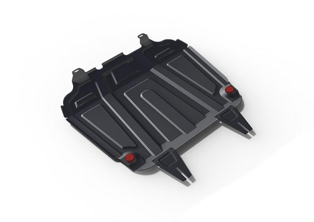 Защита картера и КПП Citroen C4 Aircross (2012-2017) увеличенная