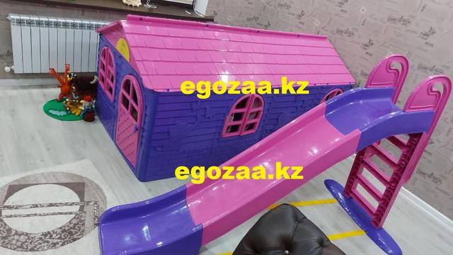 Домик игровой Doloni  02550/20 со шторками