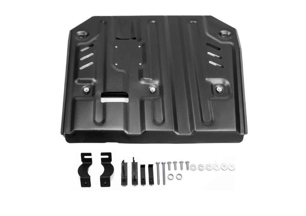 Защита КПП и раздаточной коробки Porsche Cayenne (2010-2017)