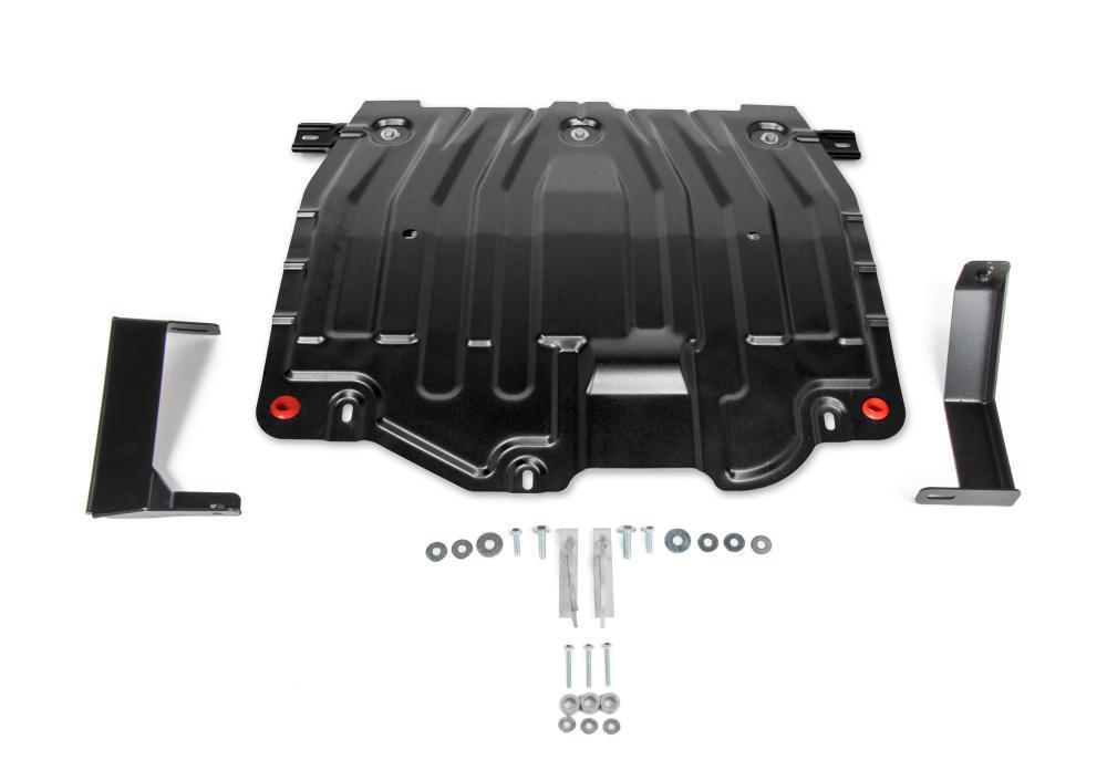 Защита картера + КПП Hyundai Elantra, 2016-2019 V - 1.6; 2.0
