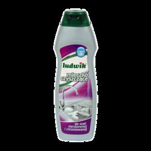 """Чистящее молочко для нержавеющей и хромированной стали """"Ludwik"""", 300 мл, фото 2"""