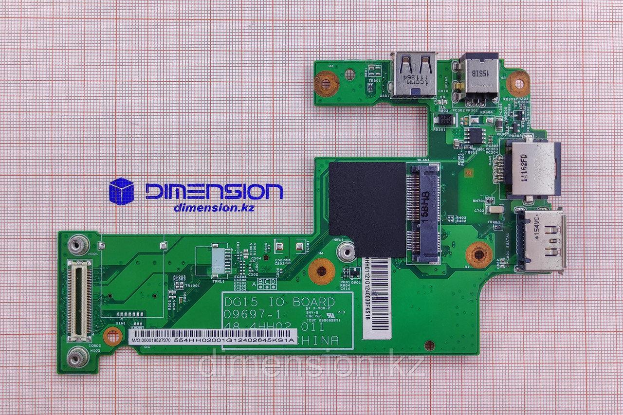 USB LAN плата, разъем питания 09697-1 для ноутбука DELL Inspiron 15R N5010 M5010