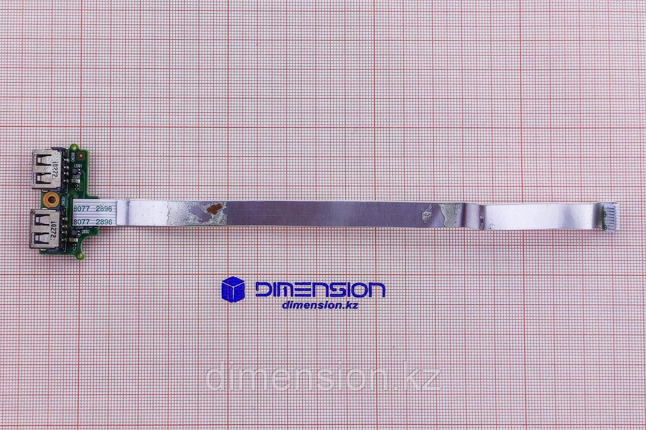 USB плата, порт, разъем для ноутбука HP 620
