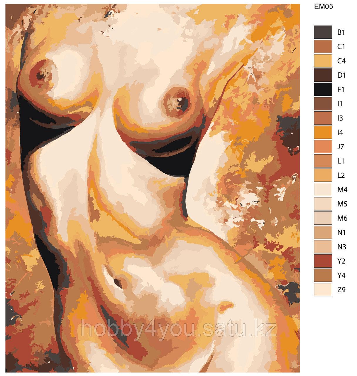 Картина по номерам  40х50 см