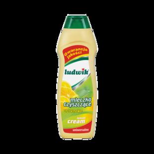"""Чистящее молочко лимон """"Ludwik"""", 300 гр, фото 2"""