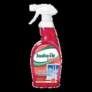 """Средство для мытья стекол и глазури грейпфрут """"Ludwik"""", 750 мл, фото 2"""