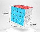 Кубик Рубика 4x4x4 Moyu Meilong в цветном пластике, фото 2
