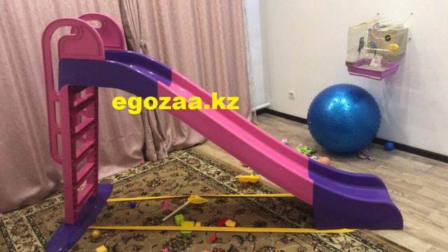 Горка детская Doloni 014550/3 розовый