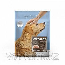 Сухой корм для собак Winner для взрослых собак крупных пород из курицы 3 кг