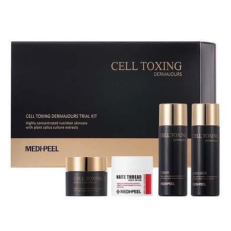 Антивозрастной мини - набор Medi-Peel Cell Toxing Dermajours Trial Kit, фото 2