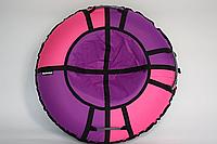 Тюбинг Hubster Хайп сиреневый-розовый 110см