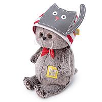 Котик Басик Baby в шапочке с котиком ВВ-046