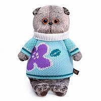 Котик Басик в весеннем свитере 30-141, фото 1
