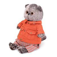 Котик Басик в оранжевой куртке и штанах 30-148