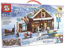 """Конструктор аналог легоLego Дисней ПринцессыSY 1430 """"Холодное Сердце: Домик в горах""""Disney Princes"""