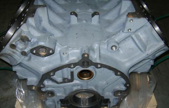 Блок цилиндров ЯМЗ-238 н/о 238-1002012-Д