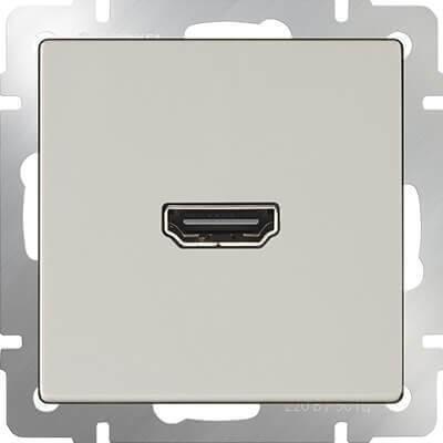 Розетка Werkel HDMI слоновая кость WL03-60-11 4690389097508