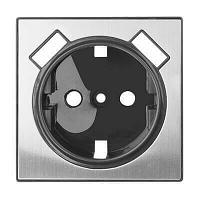 Лицевая панель Werkel розетки USB глянцевый никель WL02-USB-CP 4690389100413