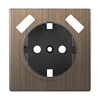 Накладка Werkel для USB розетки бронзовая WL12-USB-CP 4690389100505