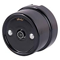 ТВ розетка Werkel Retro черная WL18-02-05 4690389100819