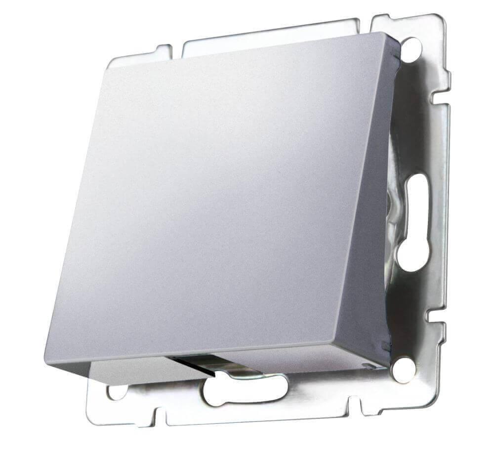 Вывод кабеля Werkel серебряный WL06-16-01 4690389099830