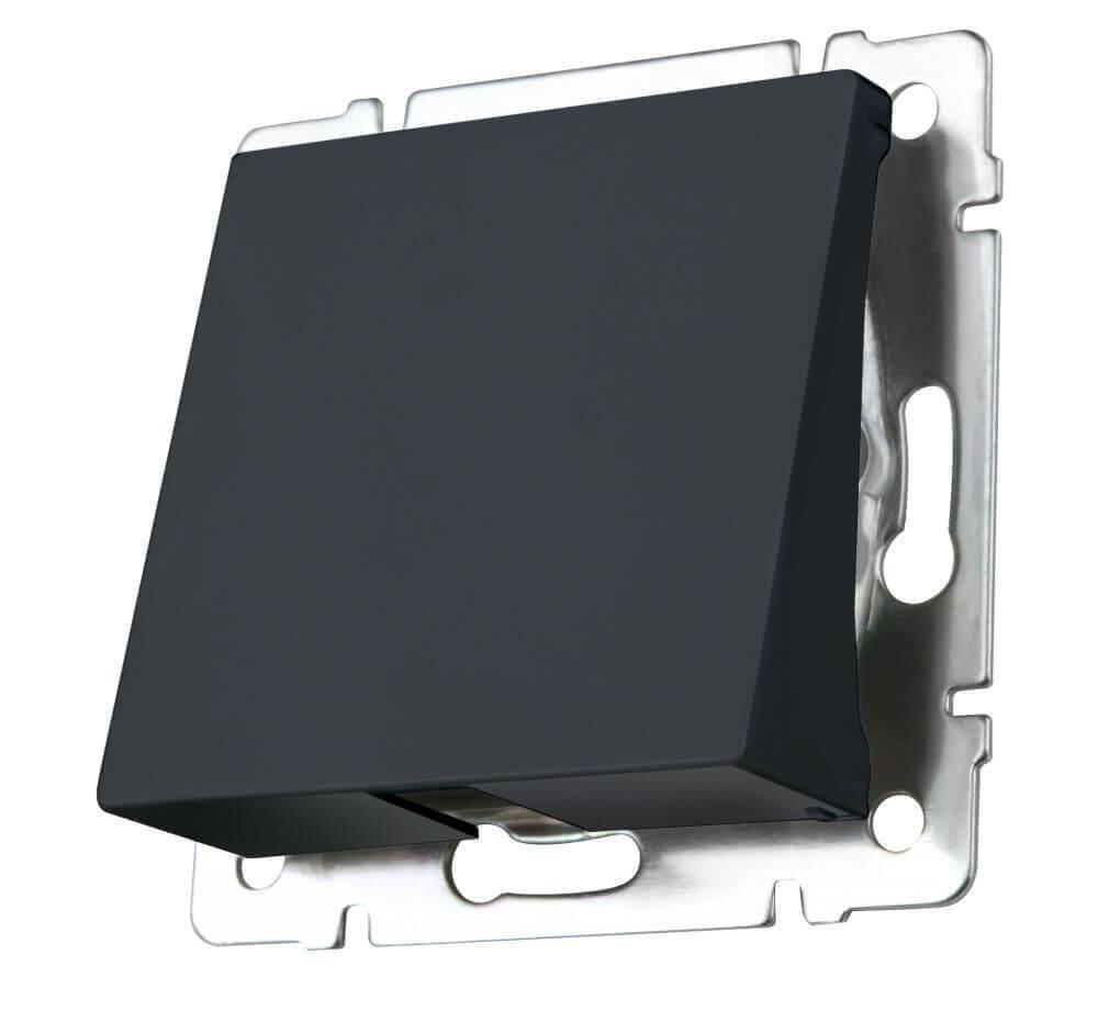 Вывод кабеля Werkel черный матовый WL08-16-01 4690389099878