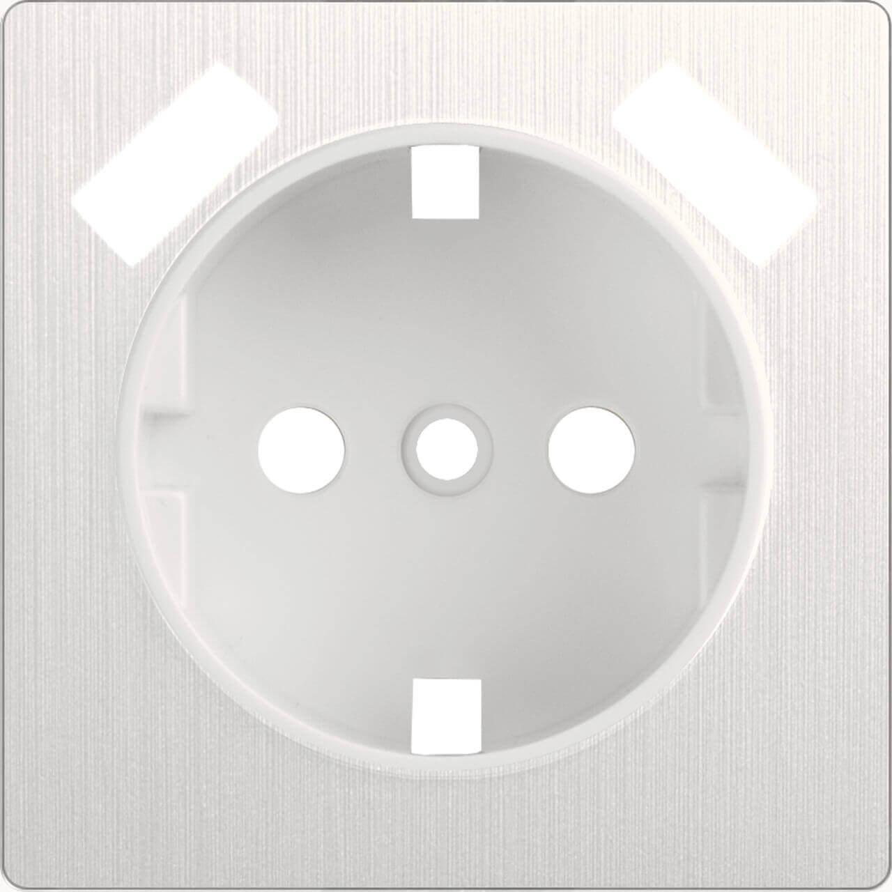 Накладка Werkel для USB розетки перламутровый рифленый WL13-USB-CP 4690389124471