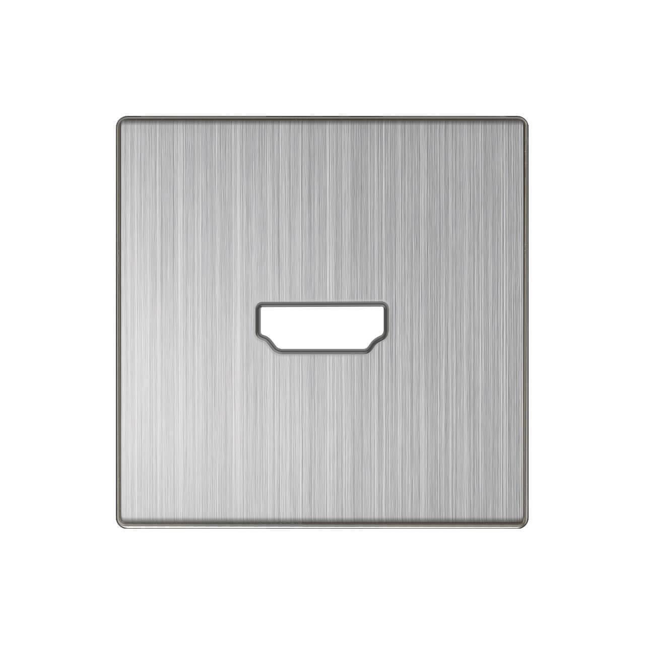 Накладка Werkel для розетки HDMI глянцевый никель WL02-HDMI-CP 4690389119569