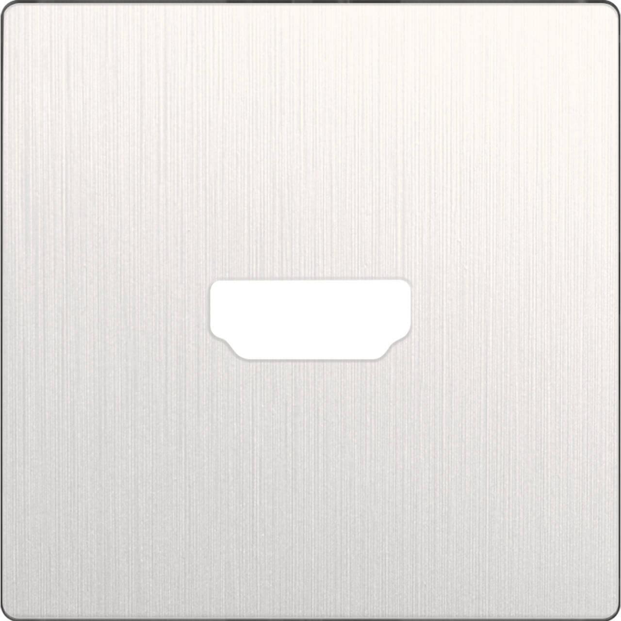 Накладка Werkel для розетки HDMI перламутровый рифленый WL13-HDMI-CP 4690389124297
